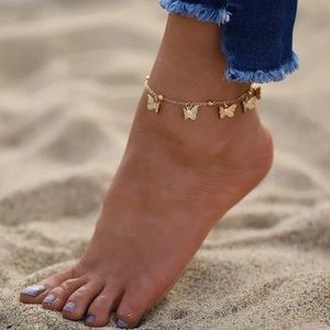 Dainty Gold Anklet Bracelet